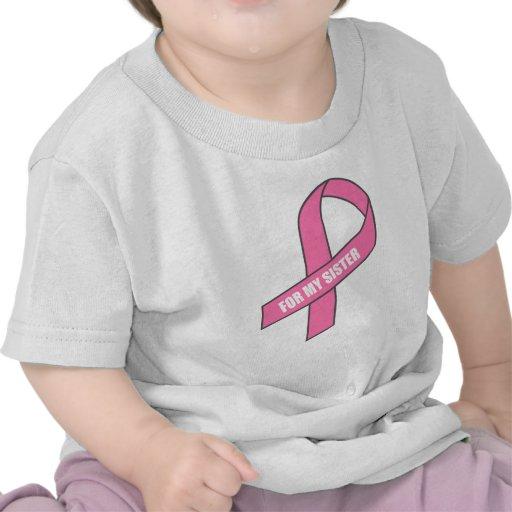For My Sister (Pink Ribbon) Shirts