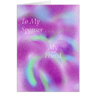 For my sponsor cards