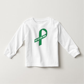 For My Step-Mom (Green Ribbon) Toddler T-shirt