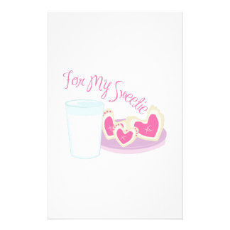 For My Sweetie Stationery Paper
