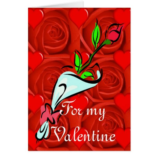 For my Valentine Card