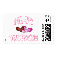 For My Valentine stamps