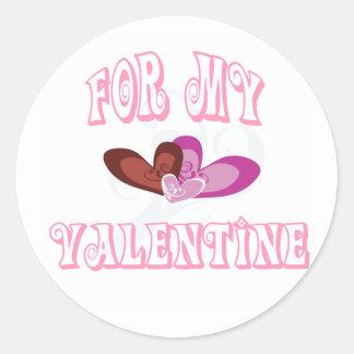 For My Valentine Sticker
