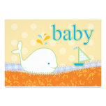 for natalie_Baby Shower Invitation - Baby Whale