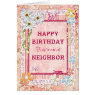 For neighbor, craft birthday card
