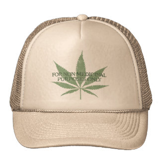 For Non Medicinal Purposes Only Cap Trucker Hat
