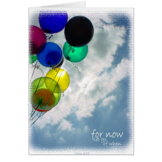 for now ~ inspirational poetry everday note card