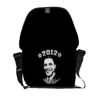 FOR OBAMA 2012 COURIER BAGS