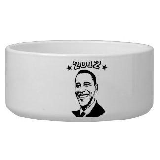 FOR OBAMA 2012 -.png Pet Food Bowls