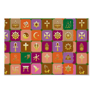For Open Minded : RESPECT for ALL RELIGIONS Poster