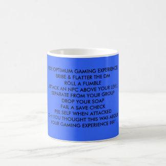 FOR OPTIMUM GAMING EXPERIENCE COFFEE MUG