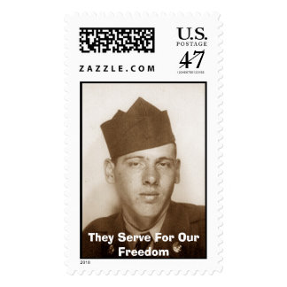 For Our Freedom Stamp