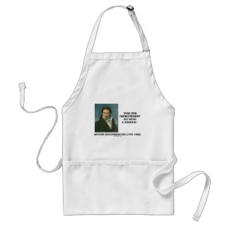 For Our Improvement We Need A Mirror Quote Adult Apron