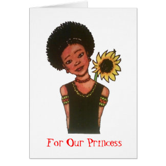 For Our Princess Greeting Card