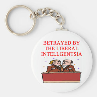 for outraged democrats; basic round button keychain
