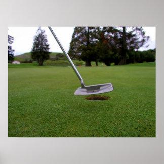 For Par Golf Shot Print
