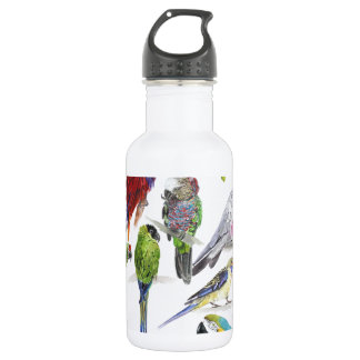 for Parrot lovers everywhere 18oz Water Bottle