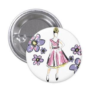 For Passion fashion Pinback Button