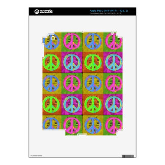 FOR PEACE iPad Skin
