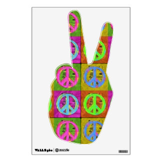 FOR PEACE Wall Decal