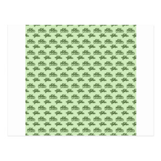 For Perfect gift maths to lover - Green model Postcard