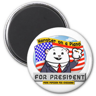 For President 2 Inch Round Magnet