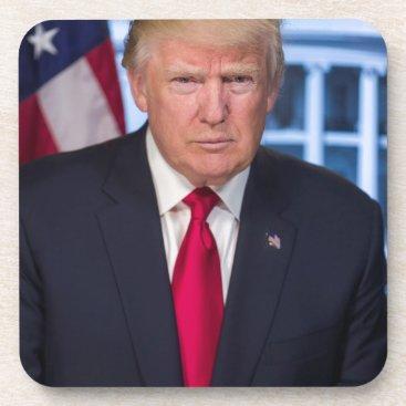 For President Donald Trump Fans Beverage Coaster