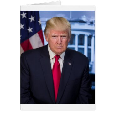 For President Donald Trump Fans Card