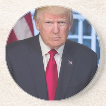 For President Donald Trump Fans Coaster