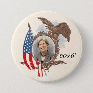 For President in 2016 Elizabeth Warren Pinback Button