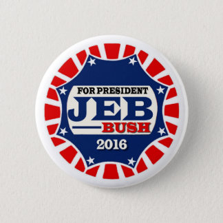For President Jeb Bush 2016 Button
