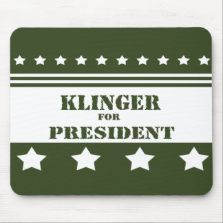 For President Klinger Mouse Pad