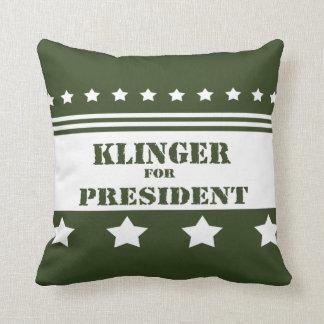 For President Klinger Pillows