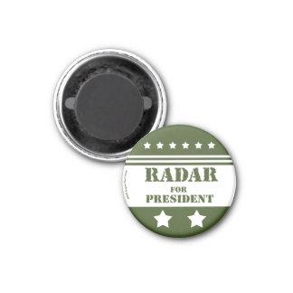 For President Radar 1 Inch Round Magnet