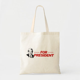 For President red Tote Bags