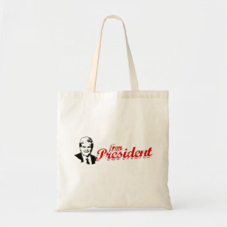 For President swash red Canvas Bag