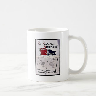 For Production Achievement, Army Navy Mugs