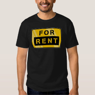 For Rent Tee Shirts