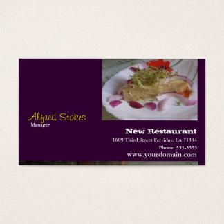 For Restaurants Business Card
