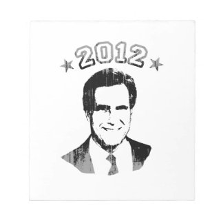 FOR ROMNEY 2012 png Note Pads