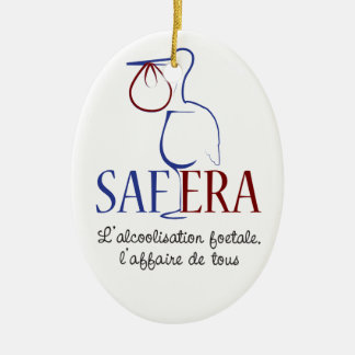 For SAFERA Ceramic Ornament