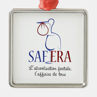 For SAFERA Metal Ornament