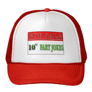 For Sale: 10 cent Fart Jokes Hat