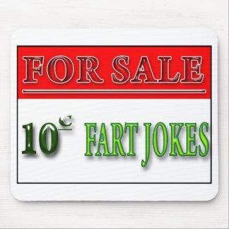 For Sale: 10 cent Fart Jokes Mousepad
