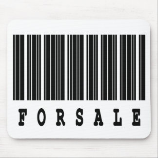 for sale barcode design mouse pad