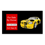 For Sale By Owner Car, House, Bike ECT Card Business Cards