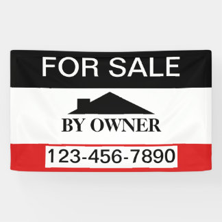 For Sale By Owner House Sale Banner