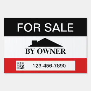 House For Sale Yard Lawn Signs Zazzle