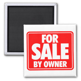 For Sale By Owner Magnet
