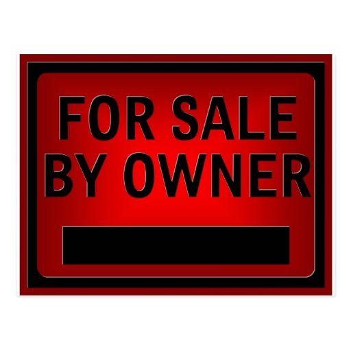 For sale by owner postcard zazzle for B b for sale by owner